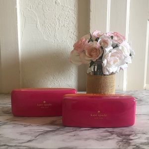 2 Kate Spade eyeglass cases